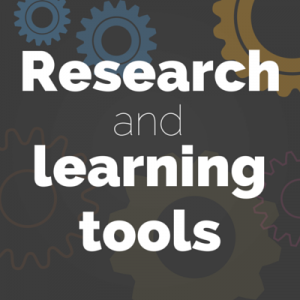 research and learning tools